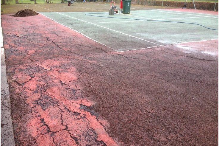 general tennis court problems